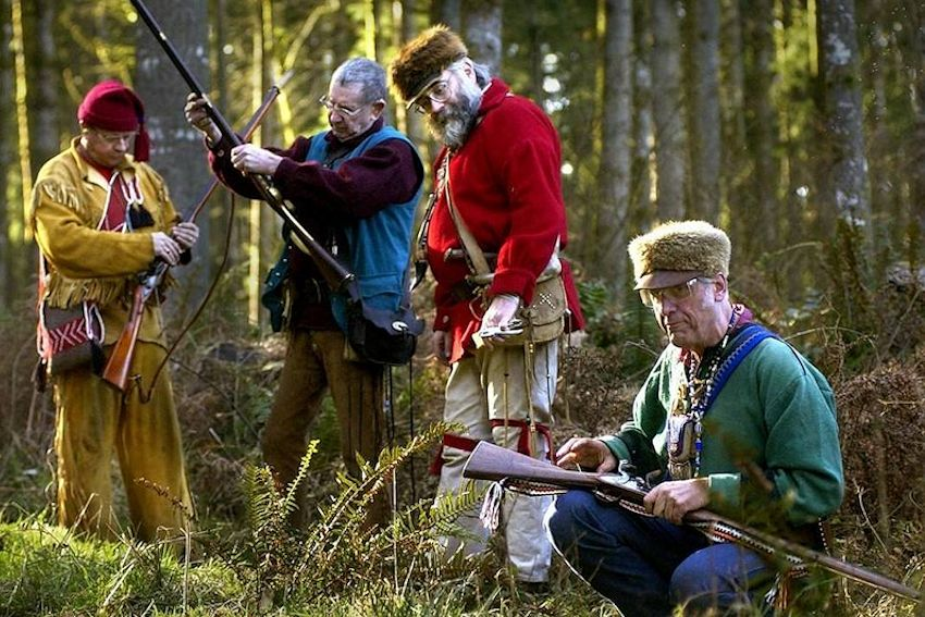 Puget Sound Free Trappers Rain Dee Voo - Capitol City Rifle and Pistol Club - Puget Sound Free Trappers Club