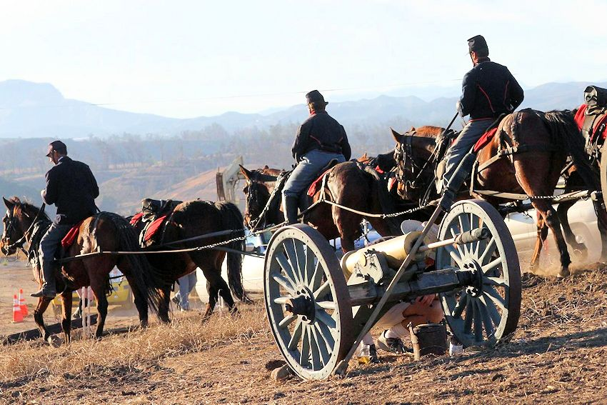 Moorpark Blue and Gray Civil War Reenactment - Hitch Ranch - Rotary Club of Moorpark