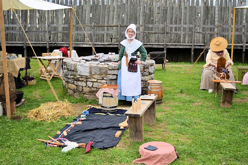 Fort Loudoun Colonial Trades Garrison - Fort Loudon State Park