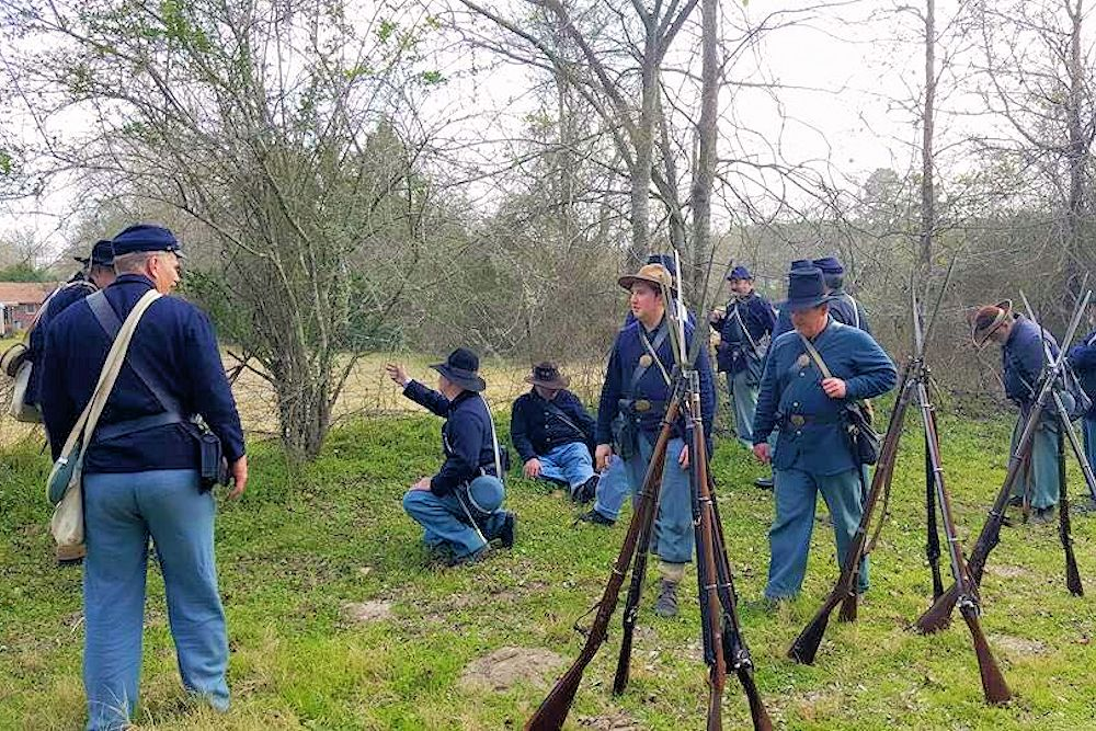 Groveton Civil War Weekend Battle of Blackjack Grove