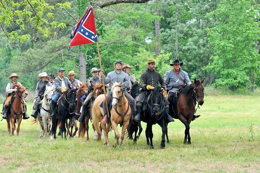 Groveton Civil War Weekend - The Battle of Blackjack Grove - Trinity County Chamber of Commerce - Groveton Indian Athletic Complex - 3rd Regiment of Texas Cavalry Living History Troupe - 3rd Texas Calvary Reenactors