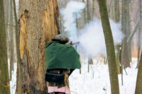 Old Fort Niagara Winter Woods Battle