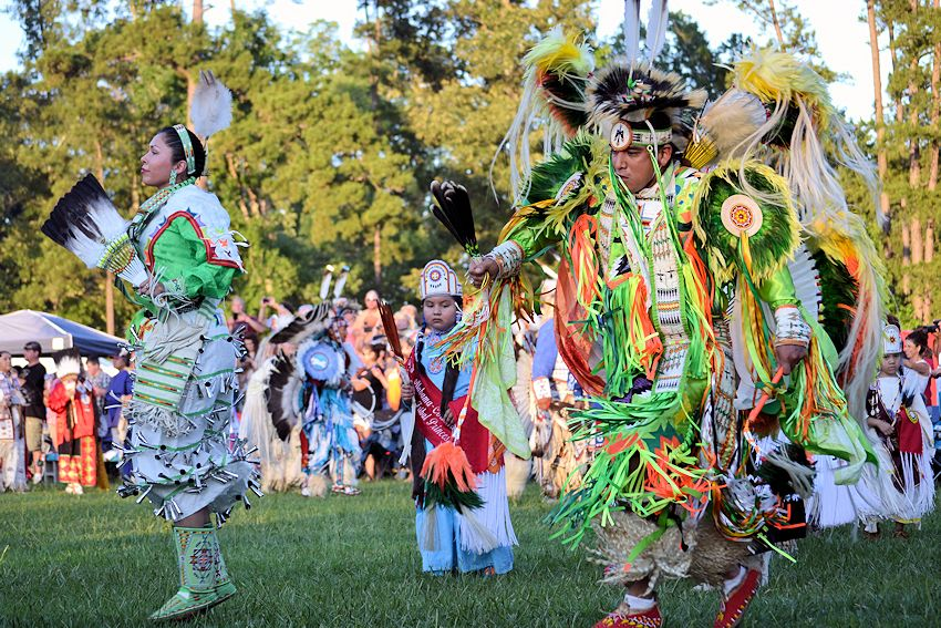 Alabama-Coushatta Powwow - Alabama-Coushatta Ballpark - Alabama-Coushatta Tribe of Texas
