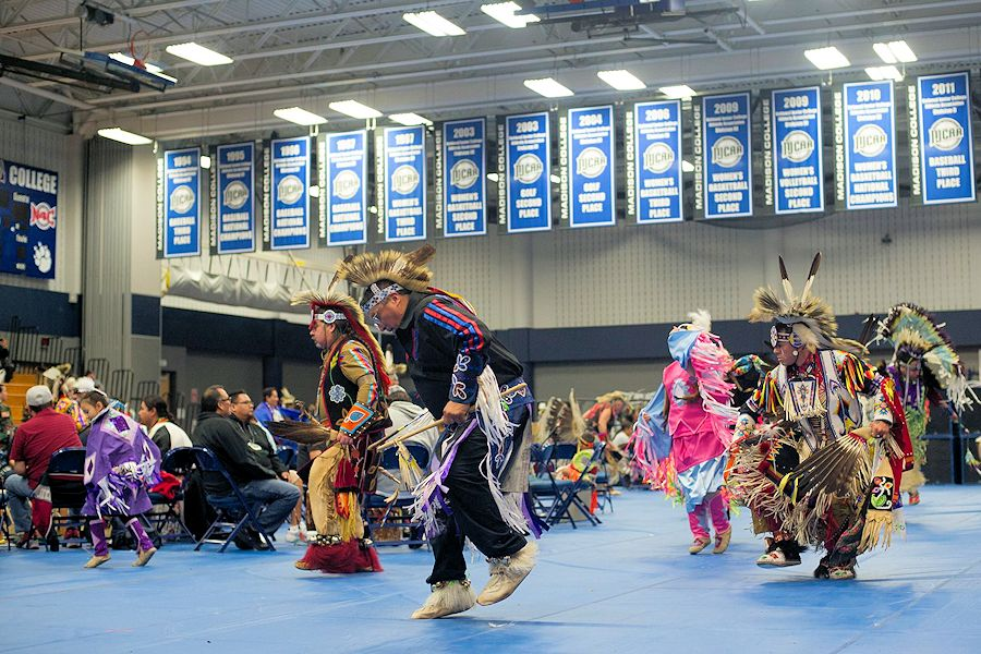 Madison College Pow Wow - Madison College Traditional Pow Wow - Redsten Gymnasium - Madison College Native American Student Association - Madison College NASA