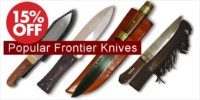 Crazy Crow Trading Post Crow Calls Sale May-June 2018 - Select Authentic Handmade Frontier Knives on Sale