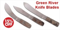 Green River Knife Blades - Crazy Crow Trading Post Crow Calls Sale May-June 2018
