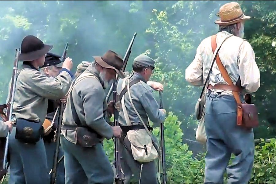 Blue and Gray Reunion - Battle of Philippi Reenactment - Downtown Philippi WV