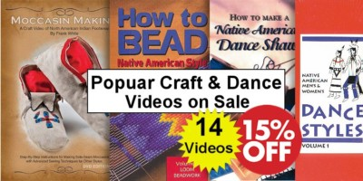 Select Craft & Dance DVDs - SAVE 15% - Crazy Crow Trading Post Crow Calls Sale