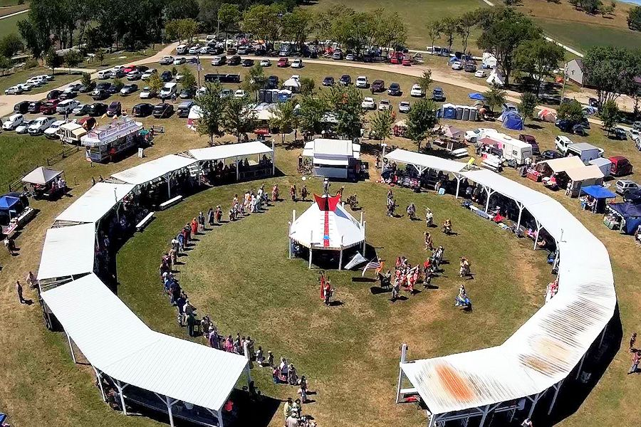 Ponca Tribe of Nebraska Pow Wow - PTN Pow Wow - PTN Pow Wow Grounds