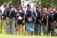 Battle of Bost Grist Mill Reenactment