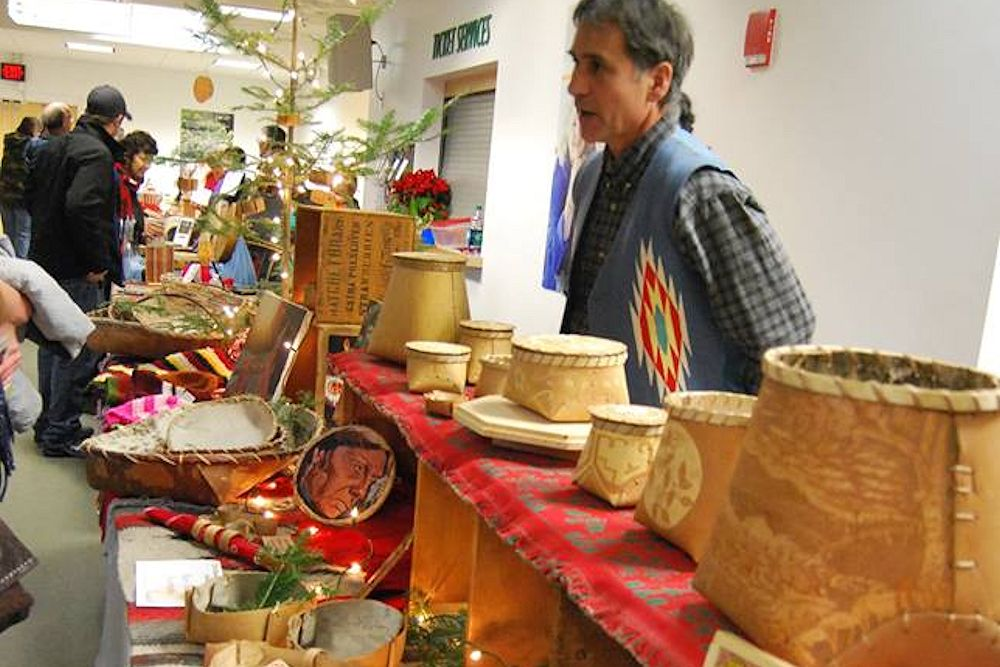 Maine Indian Basketmakers Holiday Market - Collins Center for the Arts - Maine Indian Basketmakers Alliance