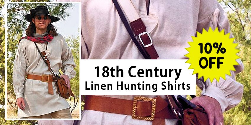 18th Century Hunting Shirts