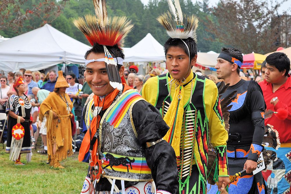 Stillaguamish Festival of the River and Pow Wow - River Meadows County Park - Stillguamish Tribe