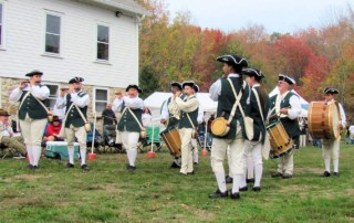 Thunder in the Valley Ancient Drum & Fife Muster - Moodus Ancient Muster - old Grange property - Moodus Drum and Fife Corps