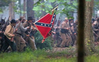 Battle of Blountville Civil War Reenactment and Military Park - Old Hawley Farm - Department of East Tennessee Reenacting - Sullivan County Department of Archives and Tourism - 63rd Tennessee Volunteer Infantry CSA Reenactors
