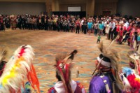 Society for Advancement of Chicanos/Hispanics & Native Americans in Science Pow Wow