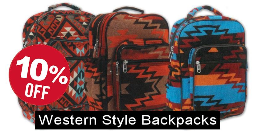 Western Style Backpack - 11