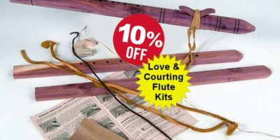 Native American Indian Love  & Courting Flute Kits
