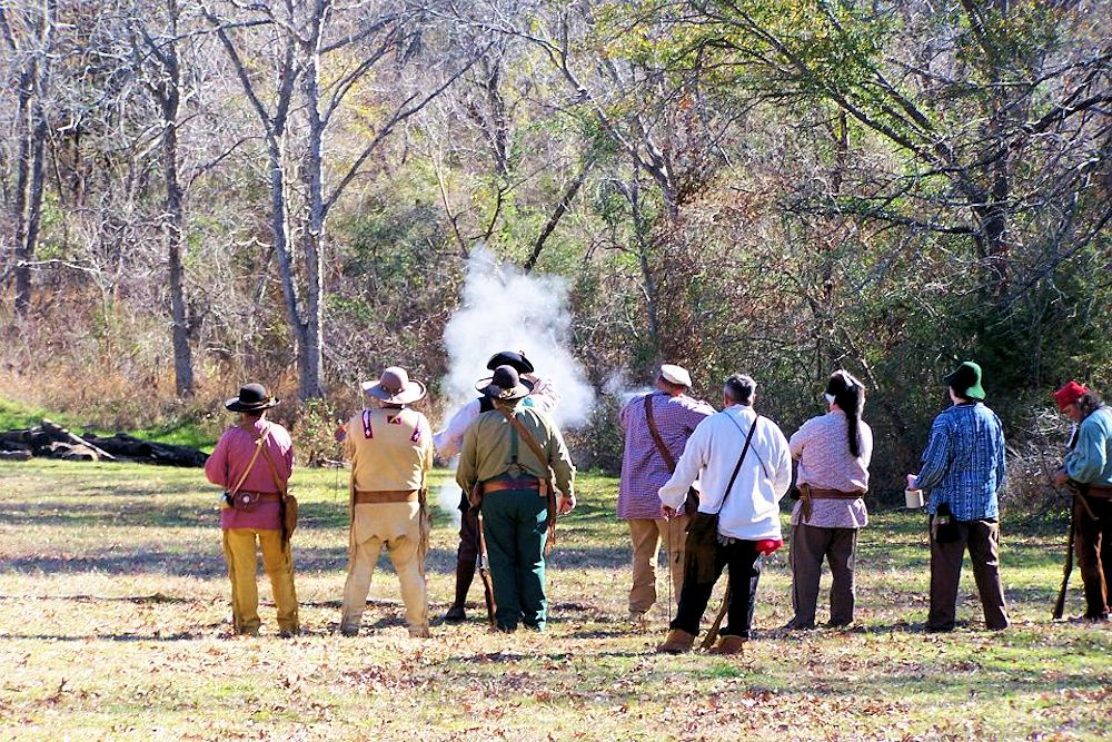 Frozen Foot Rendezvous - Dallas Muzzle Loading Gun Club Range