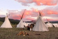 Woolaroc Fall Mountain Man Encampment