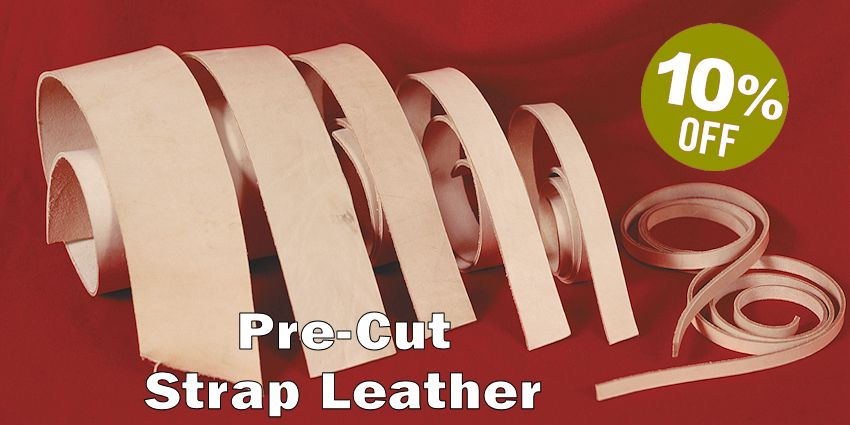 Pre-Cut Strap Leather Sale