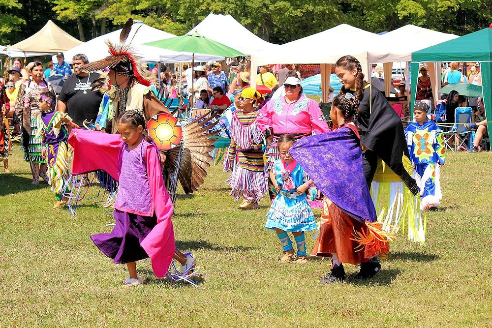 Neyaashiinigmiing Traditional Powwow - Cape Croker Park - Chippewas of Nawash Unceded First Nation