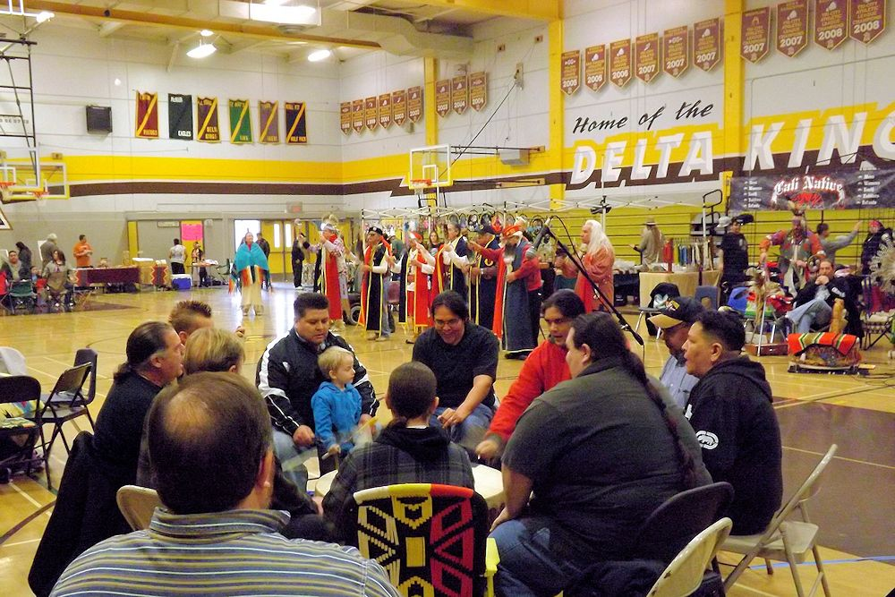Stockton Winter Powwow - University of the Pacific Main Gym - Stockton Community/UOP Winter Benefit Powwow - Stockton Pow Wow Committee