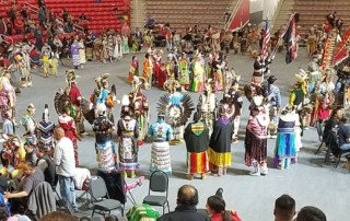USD Wacipi - University of South Dakota Wacipi - Sanford Coyote Sports Center - USD Tiospaye Student Council