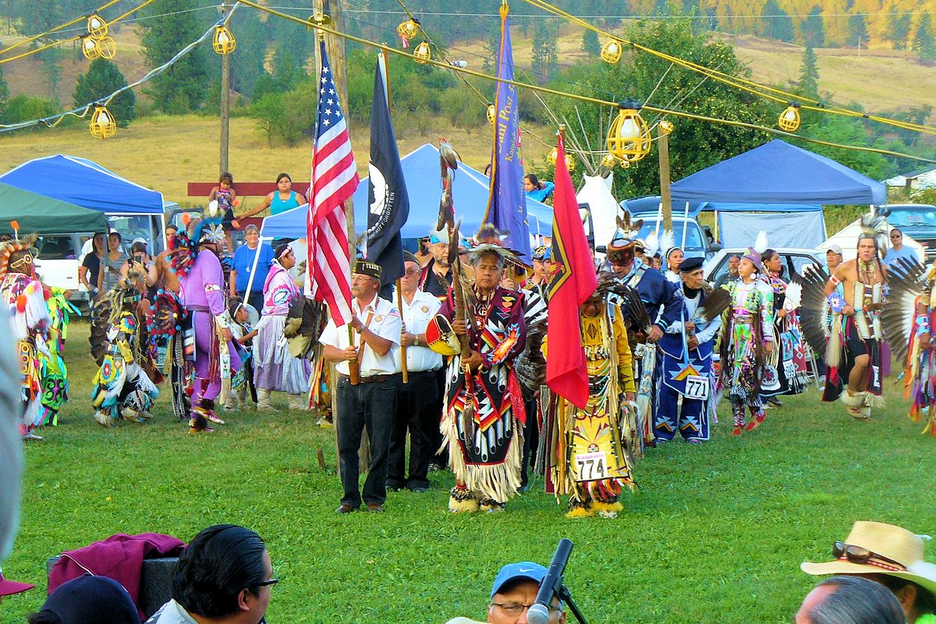 Chief Lookingglass Pow Wow - Nez Perce Tribe - Wa-A'Yas Community Center
