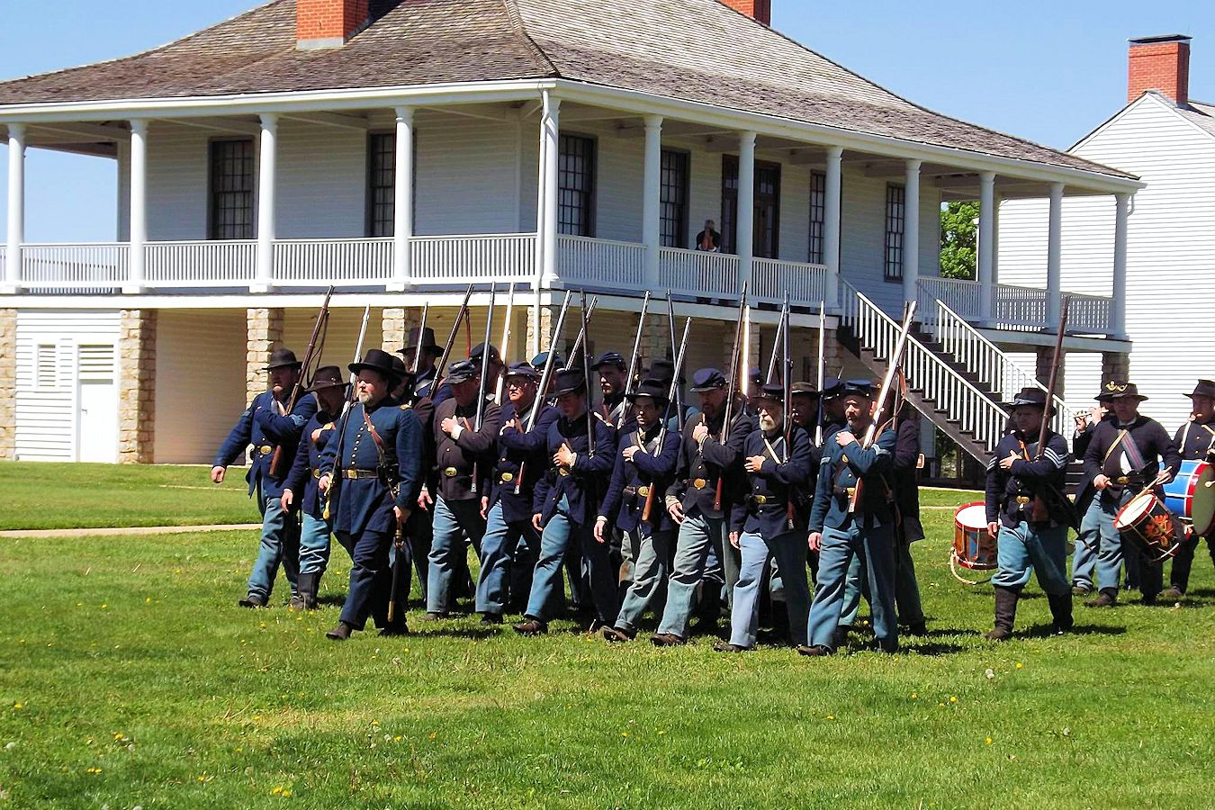Fort Scott Ks >> 2019 Fort Scott Civil War Encampment Civil War Living