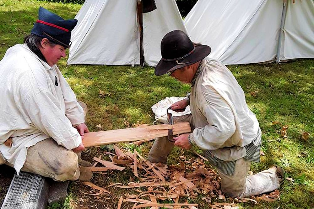 Lewis and Clark Living History at Knappton Cove Heritage Center - Pacific Northwest Living Historians (PNLH)