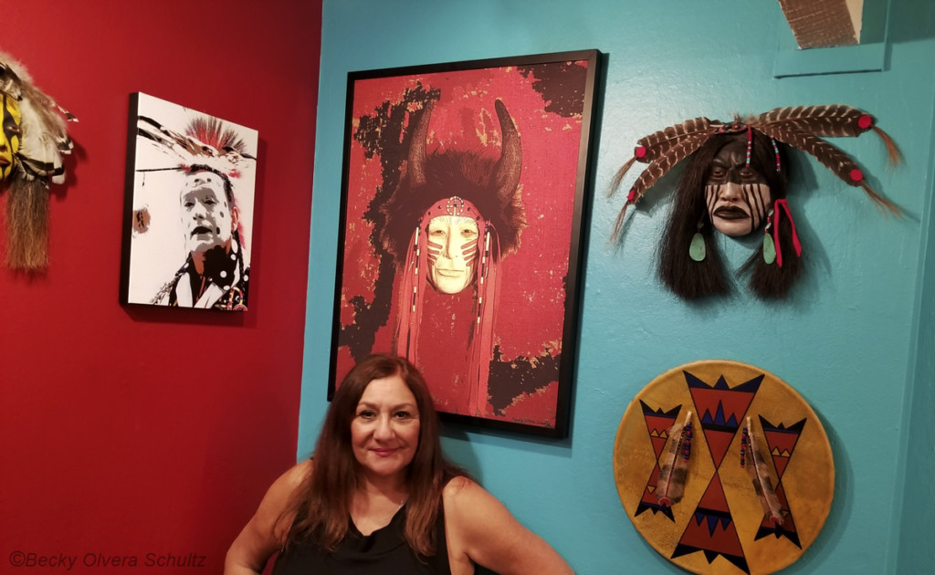Native Expressions Art Exhibit at the Museum of the American Indian in Novato - Becky Olvera Schultz