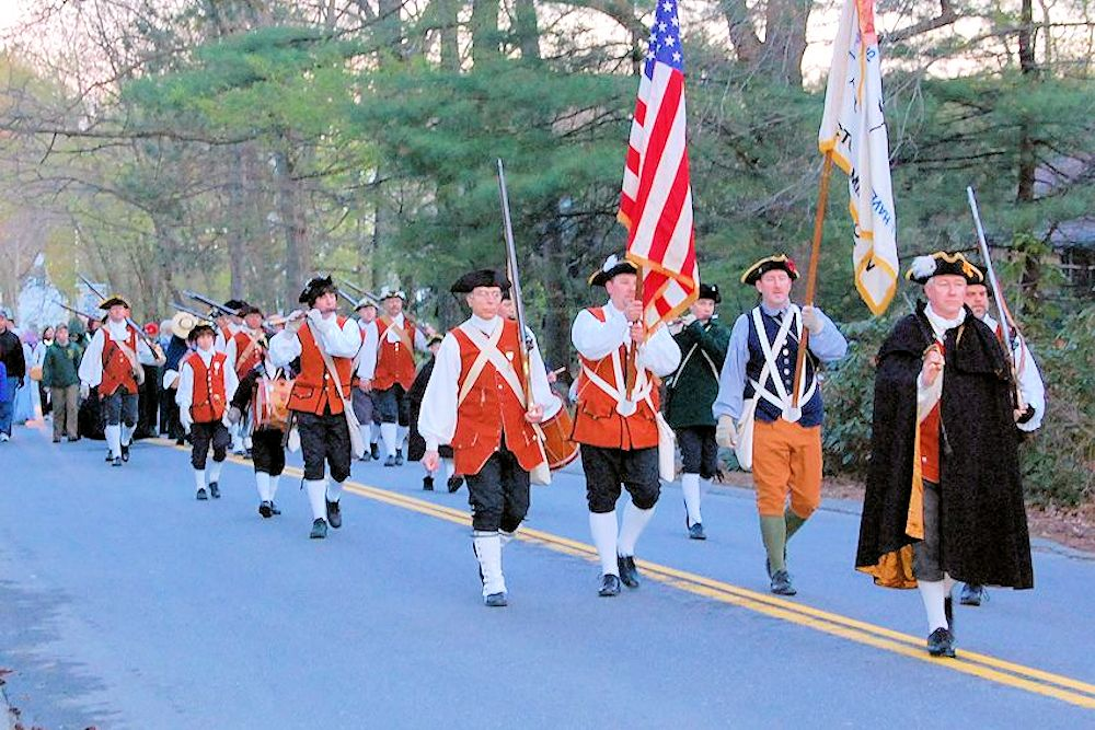 Patriots' Path: Steps to Revolution - Littleton Historical Society - First Church Unitarian