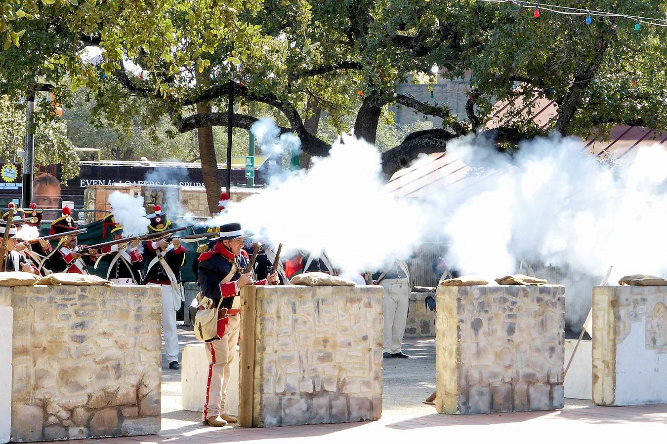 Battle of Béjar Reenactment - Maverick Plaza at La Villita - San Antonio Living History Association