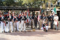 Seige of Béjar Reenactment - Maverick Plaza at La Villita - San Antonio Living History Association