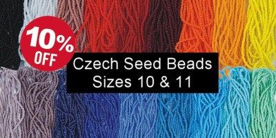 Strung Czech Seed Beads - Sizes 10/0 & 11/0 Save 10%