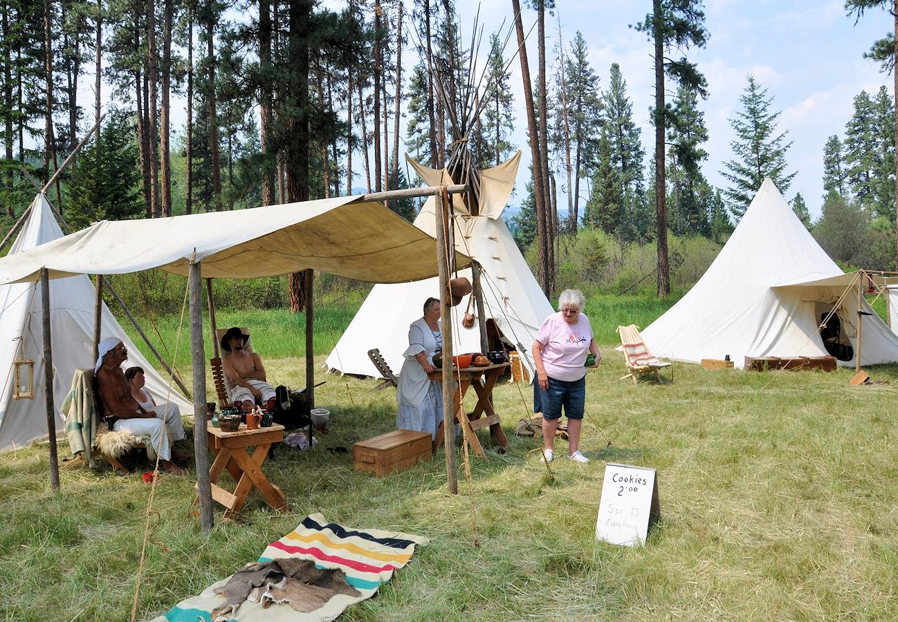 Spring Rock River Rendezvous hosted by the Kootenai Muzzleloaders - Fawn Creek Campground