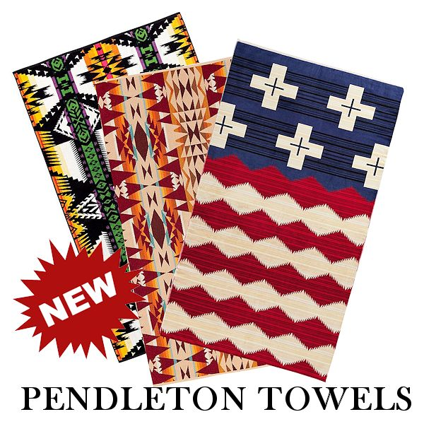 New Pendleton Towels for 2019 from Crazy Crow Trading Pot