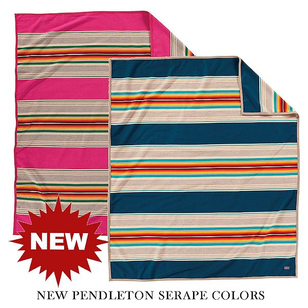 New Pendleton Serape Colors for 2019 from Crazy Crow Trading Pot