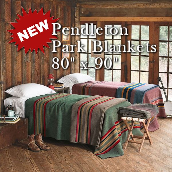 New Pendleton National Park Blankets for 2019 from Crazy Crow Trading Pot
