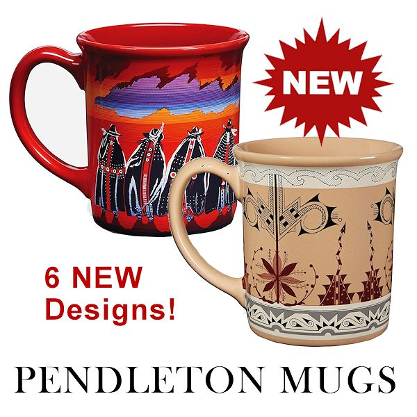 New Pendleton Coffee Mugs for 2019 from Crazy Crow Trading Pot