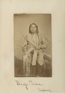 Big Foot: Kiowa Chief as a boy